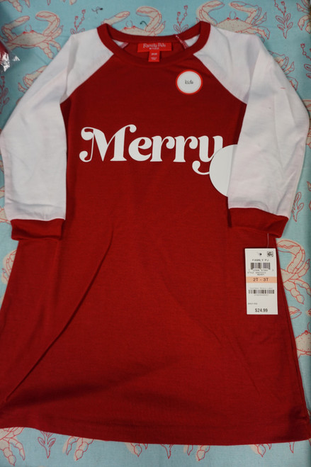 16pc Girls  M*CYS Family PJs Sleep Gown Shirts 2T / 3T #24571K (x-5-4 )