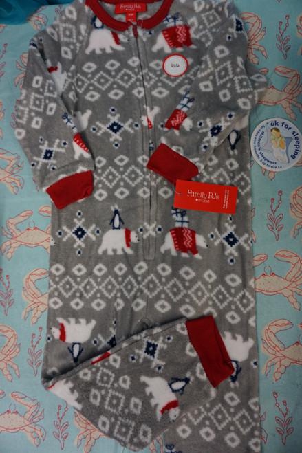 11pc M*CYS Family PJs Fleece Sleepers 2T / 3T & 12 MONTH #24572K (L-5-1 )