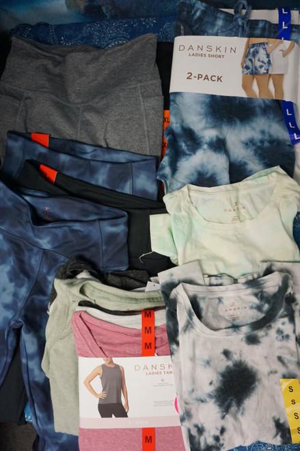 19+pc (24 Total) Womens DANSKIN Activewear #24618N (Z-9-5)