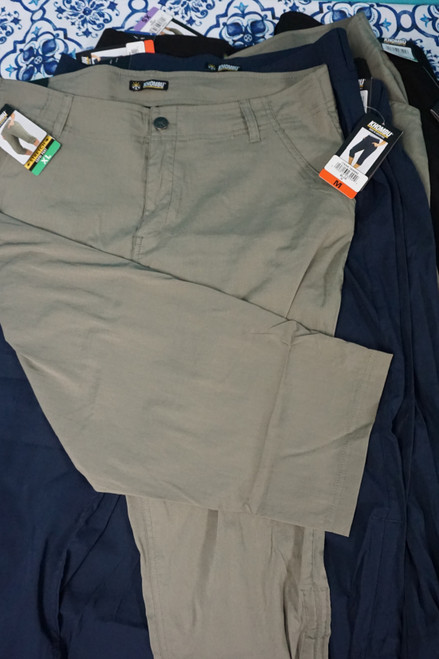 10pc KHOMBU Womens Active Capri Pants DUPLICATES #24637Q (L-1-6)