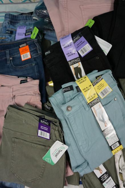 28pc Womens BUFFALO Jeans #24639Q (Z-10-1 )