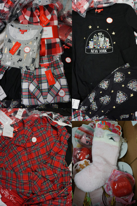 113+pc (170+ Total) Womens M*CYS Family PJ Holiday Sets & Accessories #24697u (D/E)