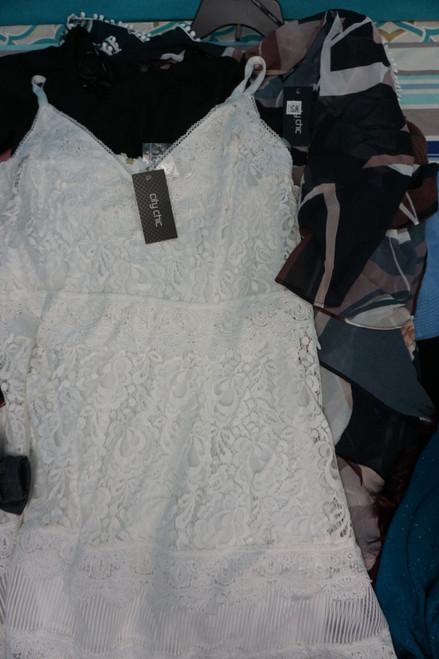 7pc PLUS SIZE City Chic Dresses ROMPER Tops #24710v (B-9-5)