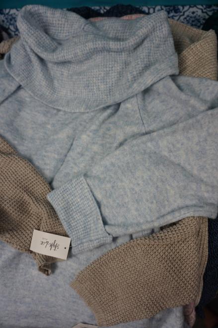 25pc PLUS SIZE Style & Co Sweaters #24714v (K-4-6)