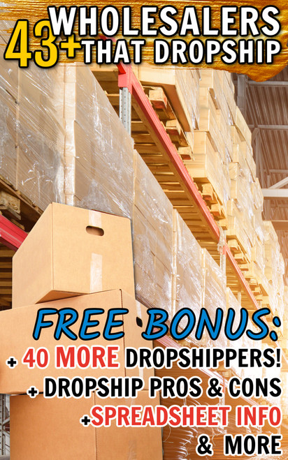 43+ Wholesalers that Dropship Products Online List (USA)