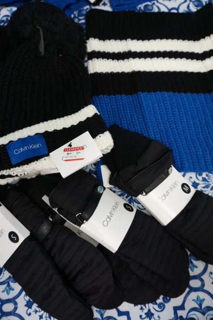 24pc Womens Calvin Klein Winter Accessories #24725w  (U-1-1)