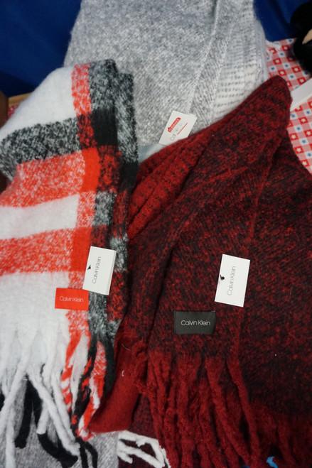 16pc Womens Calvin Klein Blanket Scarves #24728w (J-2-2)