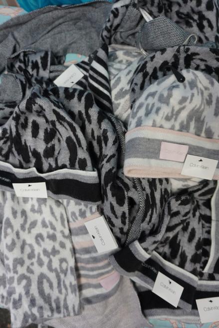 17pc Womens Calvin Klein Animal Print Accessories #24729w (Y-7-4)