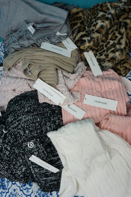 29pc Womens Calvin Klein Winter Scarves #24753x (N-5-6)