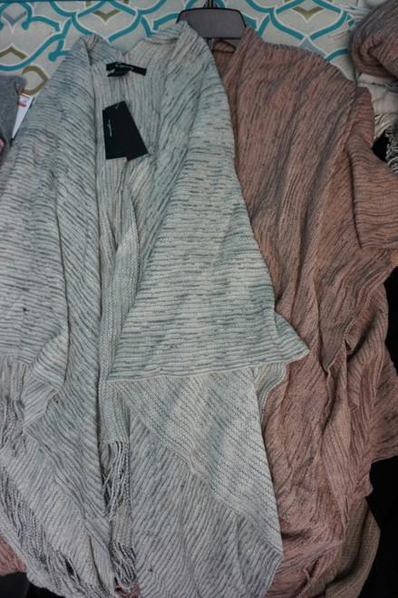 20pc Womens Cejon Sweater Wraps with Pockets #24795A (B-8-2)