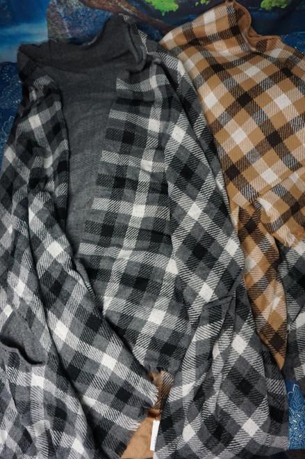 5pc Womens Aqua Brand Multi-Way Jacket Wraps #24799A (L-3-4)