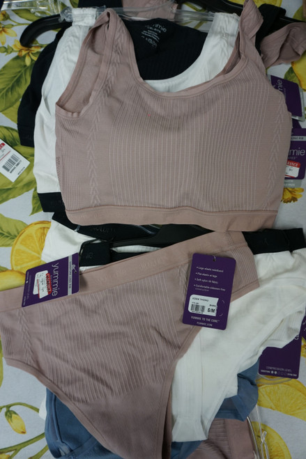 12pc YUMMIE Mix & Match Bras + Panties #24819B (q-3-4 )