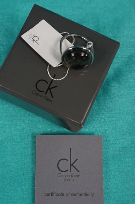 21pc Calvin Klein GIFT BOXED Womens Gray Rings #24827c (O-3-5 )
