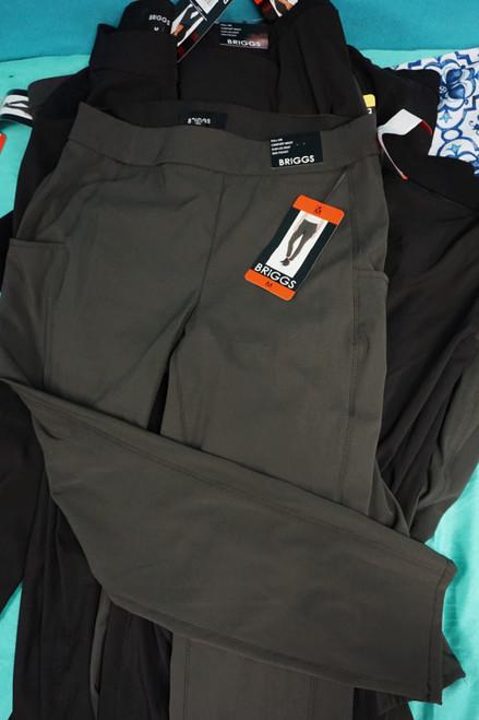 14pc Womens BRIGGS Slacks / Dress Pants #24858F (v-6-3)