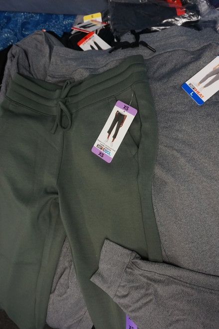 49pc Womens 32Degrees STAY COOL & STAY WARM Active Pants #24860F (J-2-6)