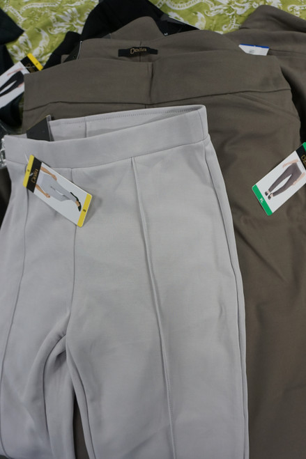 19pc DALIA Womens Pants ~ 2 Styles! #24871F (V-6-3)