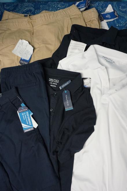 19pc BOYS Nautica School Uniform Collection #24895F (X-2-3)