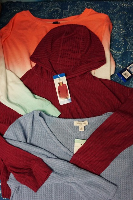 20pc Womens Thermals CHASER Splendid AMERICAN VINTAGE #24908G (L-5-2 )