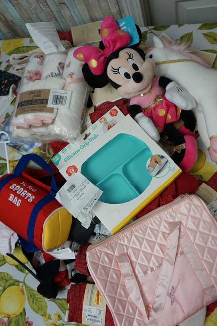 60+pc BL**MINGDALES Designer BABY Accessories #24932G (V-1-1)