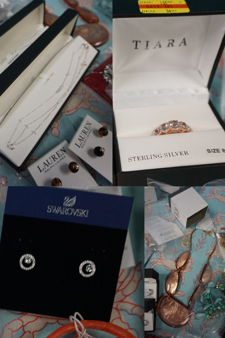 46+pc Designer Jewelry! SWAROVSKI Sterling Silver & More #284945H (O-5-2)