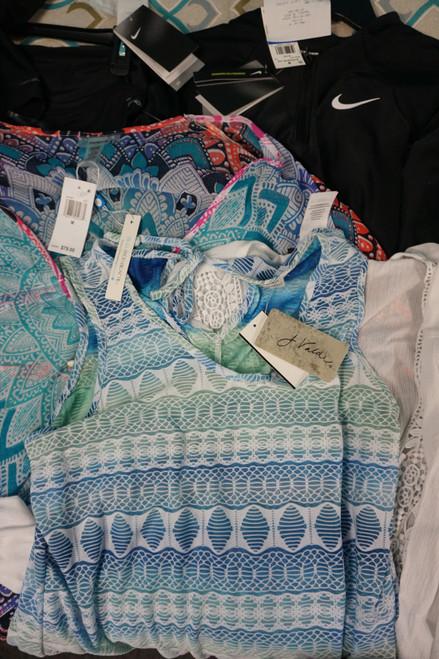 16pc Womens Beachwear NIKE La Blanca & More #24982M (U-5-3)
