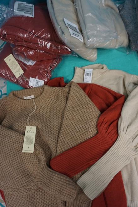 8pc $100 Womens Elan Sweaters #25949Q (Y-5-3)