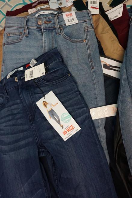 45pc CELEBRITY PINK Juniors Jeans & Pants #25973R (X-7-2)