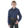 Wrangler Boys Denim Snap Shirt