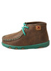 Twisted X Turquoise Infant Driving Moc