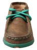 Infant Driving Moc Turquoise
