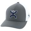 Dallas Cowboys x Hooey Cap, Gray/White