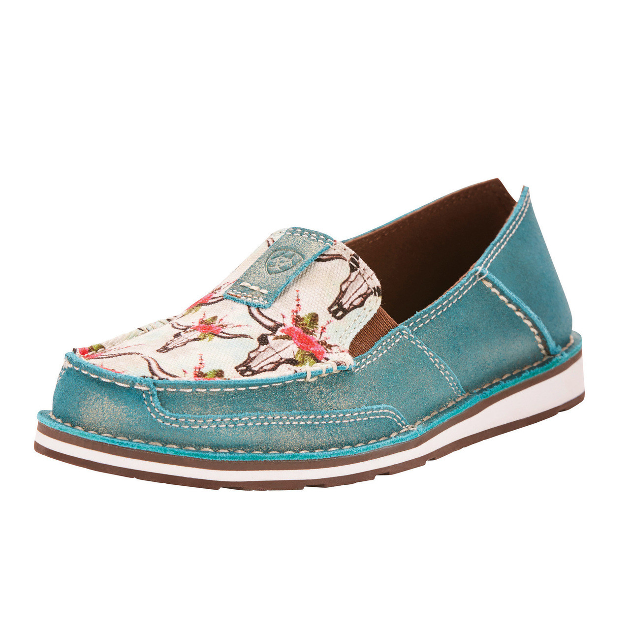 893becb4c19aa Ariat Women s Steers and Roses Cruiser