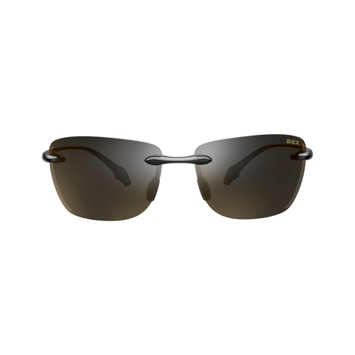 Bex Sunglasses Jaxyn X, Black/Brown