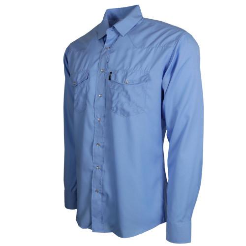 Hooey Sol Long Sleeve Snap Shirt, Blue
