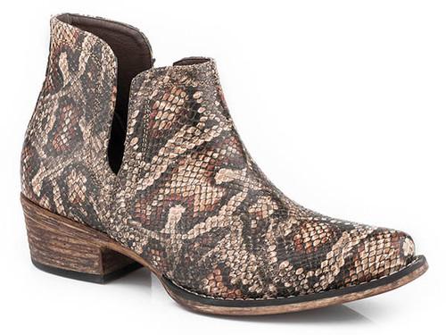 Roper Women's Faux Snake Ankle Boot