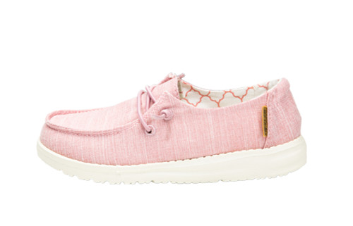 Hey Dude Wendy for Girls, Cotton Candy Pink