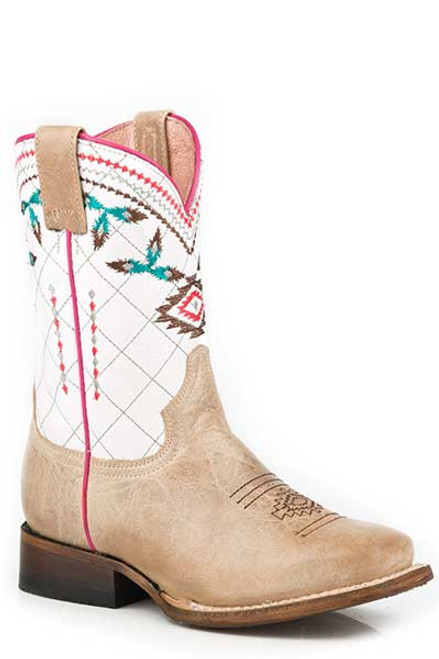Roper Girls Aztec Square Toe Boot