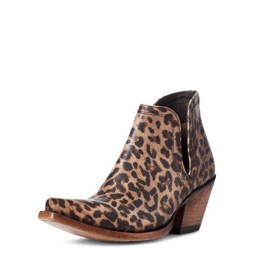 Ariat Dixon Bootie Distressed Leopard
