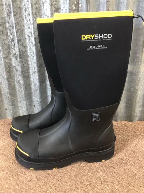 DryShod Men's Steel Toe Cold Conditions Waterproof Protective Boot