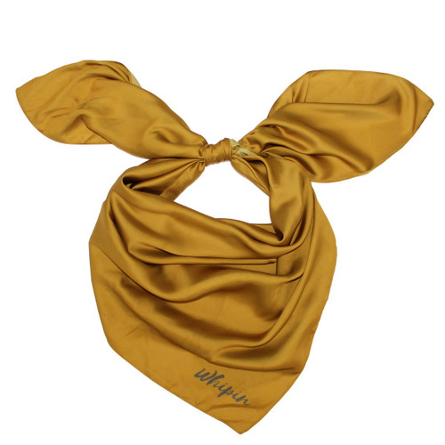 "Gold Buckle Wild Rag 36""x36"""