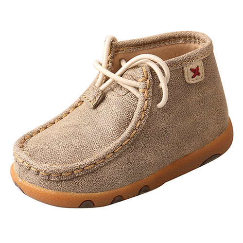 Twisted X Infant Driving Mocs in Dusty Tan