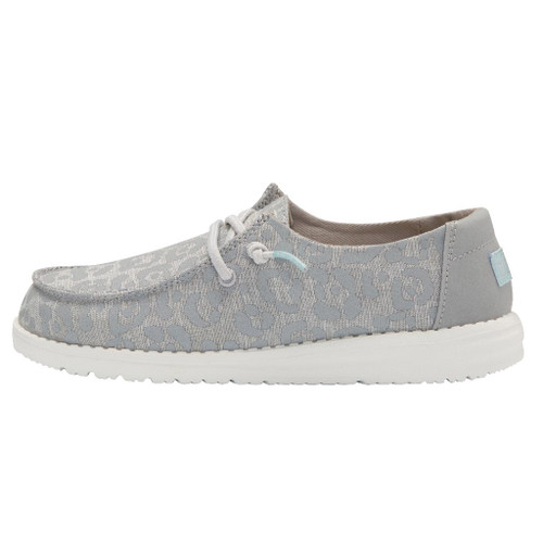 Hey Dude Wendy Youth Cat Eye Grey Cheetah 130123168