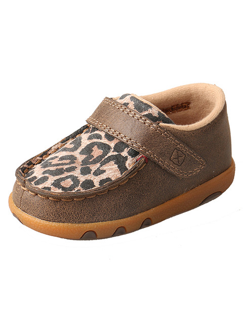 Twisted X Infant Leopard Driving Moc