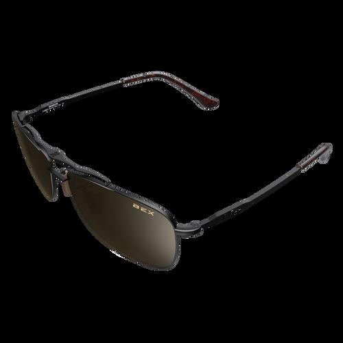 Bex Draeklyn Sunglasses Black/Brown