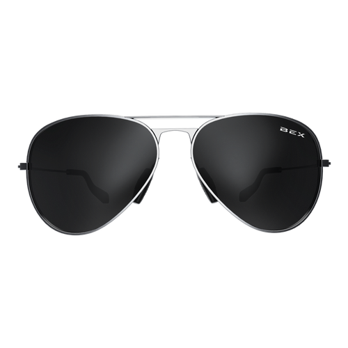 Bex Wesley Sunglasses Silver/Gray
