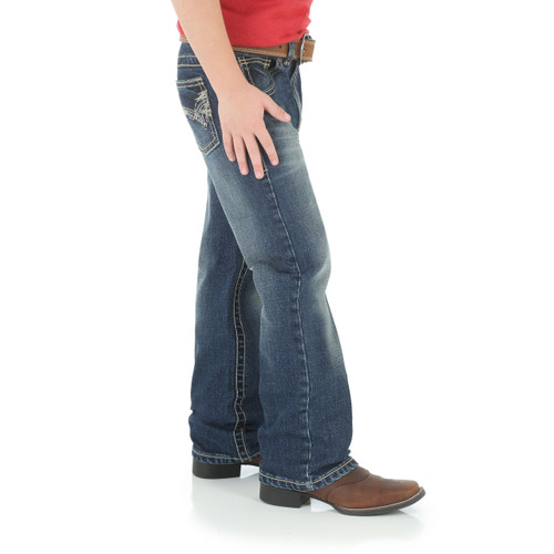 Wrangler® 20X® Boys Vintage Boot Cut Jean