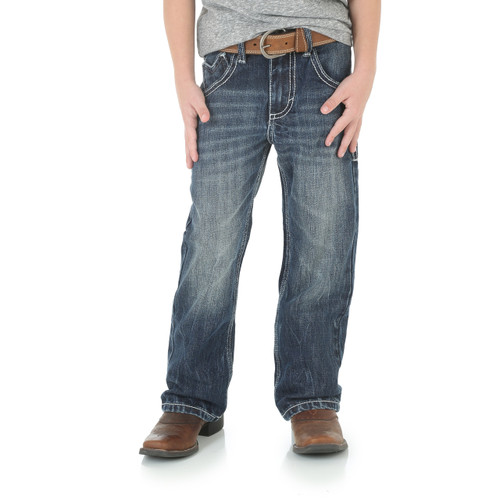 Wrangler® 20X® No. 42 Vintage Boot Boys Jean, Canyon Lake Wash