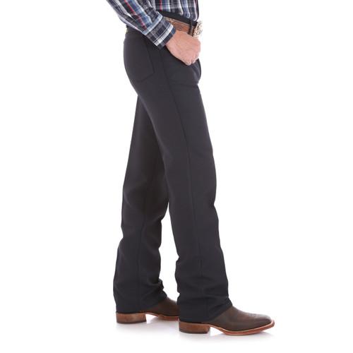 Mens Wrangler Wrancher® Navy Dress Jean