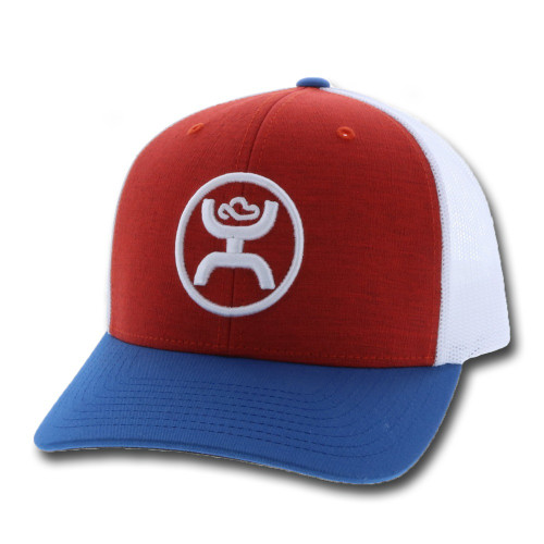 Hooey Classic Snapback, Red White and Blue