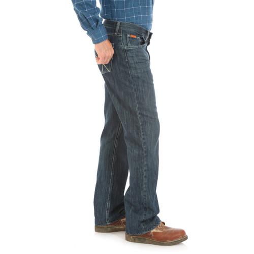Wrangler® FR 20X® Vintage Boot Jean, Medium Stonewash